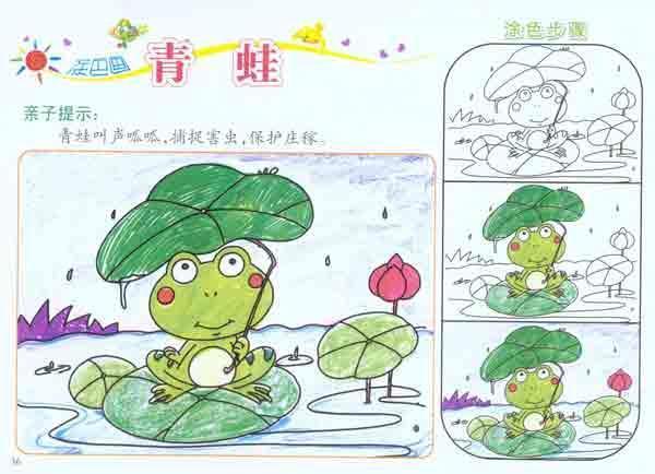 幼儿园涂色画册.动物篇-童婴文化-少儿-文轩网