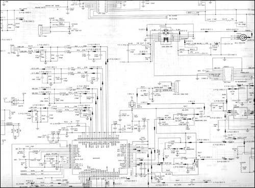 d29mk3型彩色电视机电路原理图6 1.