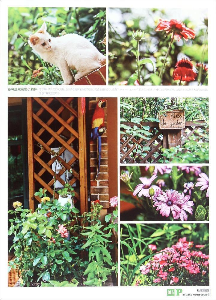 屋顶花园 混搭式庭院