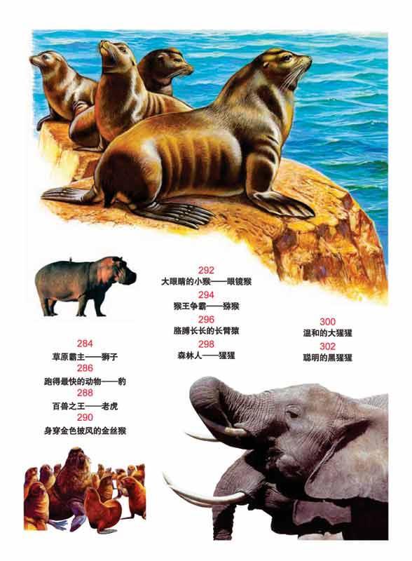 世界动物百科(学生版) 龚勋