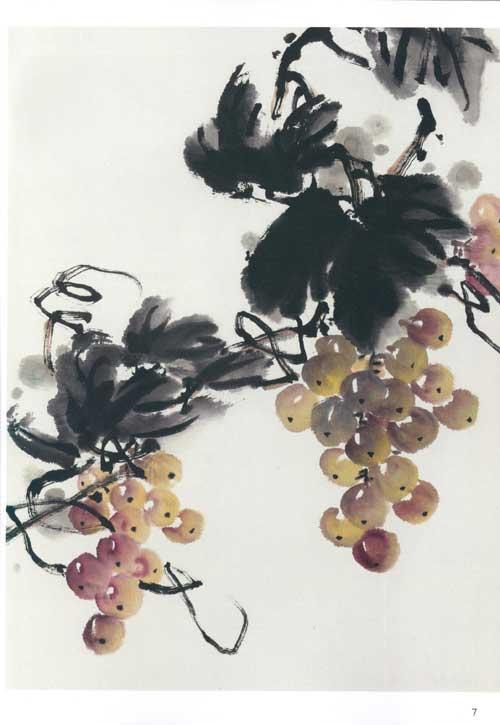 莲藕的画法 临摹古画 画写意蔬果的 注意事项 构图要求 创作示范 作品
