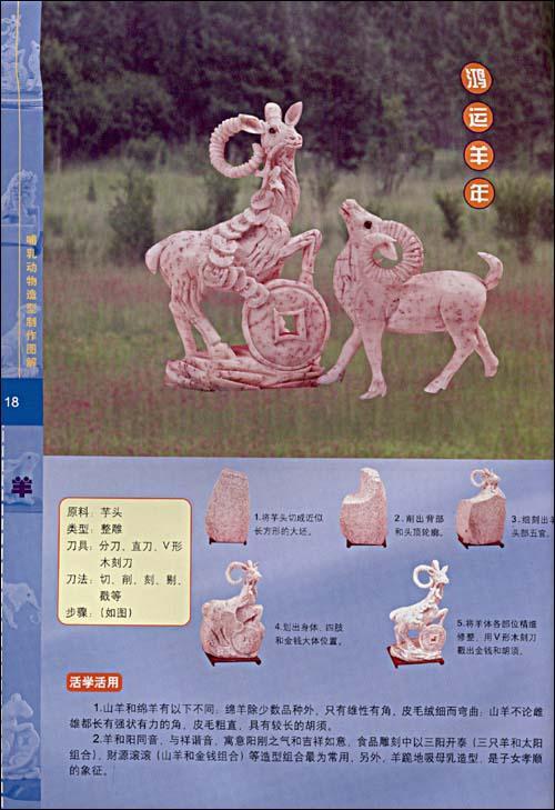 面塑12生象动物图片
