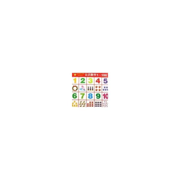 幼儿园数字1-100装饰