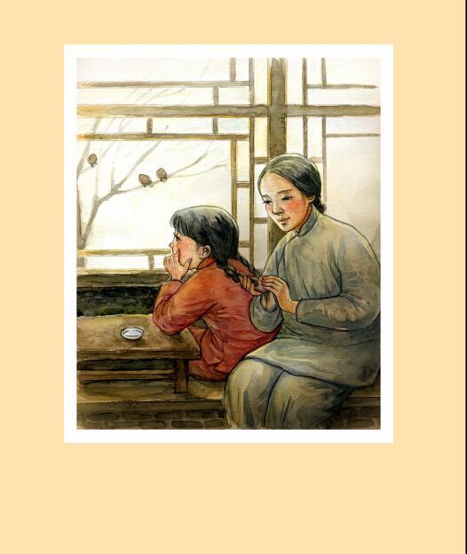 城南旧事林海音 手绘插画本,大字典藏版