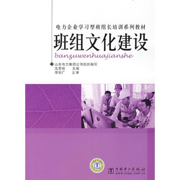 班组文化建设/电力企业学习型班组长培训系列教材