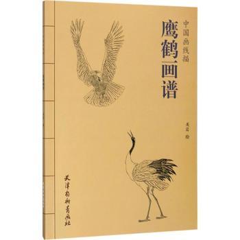 飞翔的鹤的简单画法