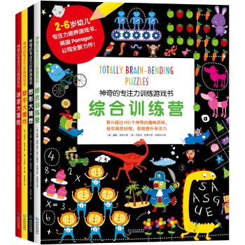 神奇的专注力训练游戏书(套装共4册)