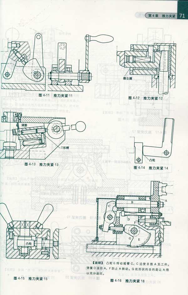 现代机床夹具典型结构图册