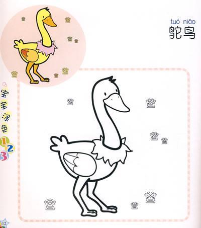 宝宝涂色:动物园水族宫