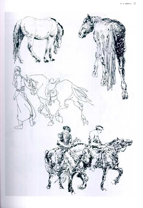 国画技法讲堂 名家教你画动物