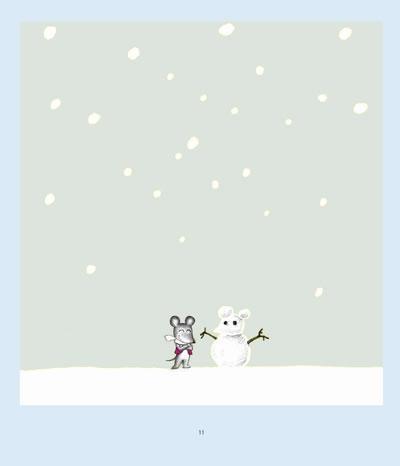 可爱的鼠小弟14:鼠小弟堆雪人 [精装]