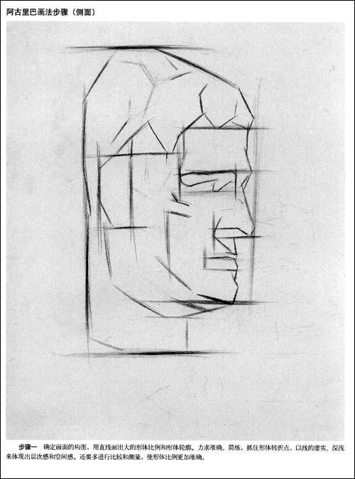 一,概述 二,素描常用工具 三,素描石膏头像的常识 贝多芬切面像画法