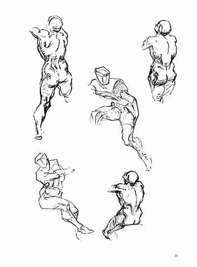 伯里曼人体结构绘画教学(第三版)(限量赠送精美速写
