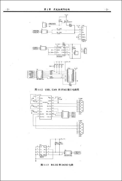 系统复位电路  1.2.3时钟电路