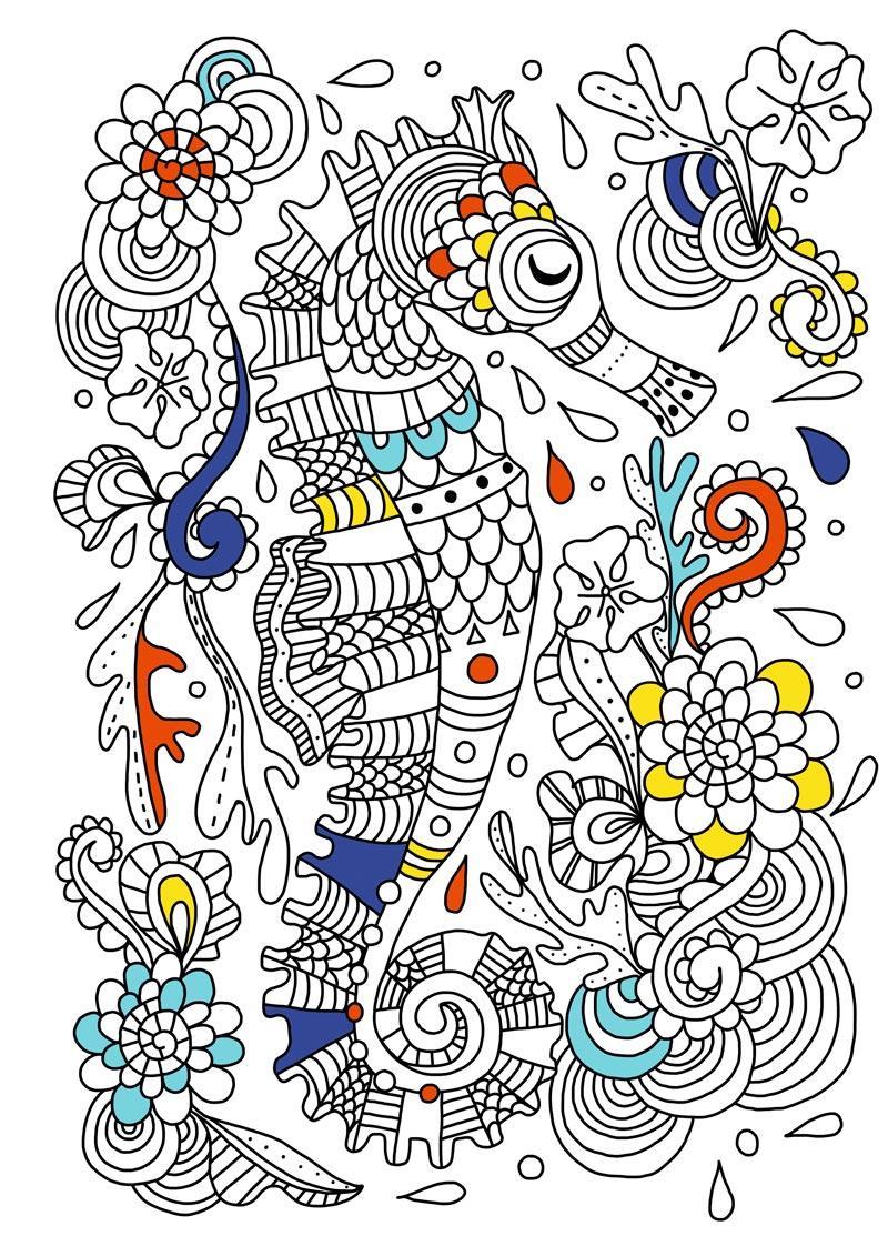儿童创意手绘涂色书(共4册)
