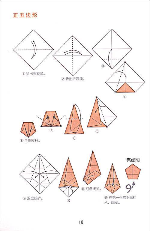立体折纸灯笼_第2页_图解步骤