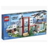 乐高新品城市系列正品LEGO直升机营救儿童积木玩具礼物L4429