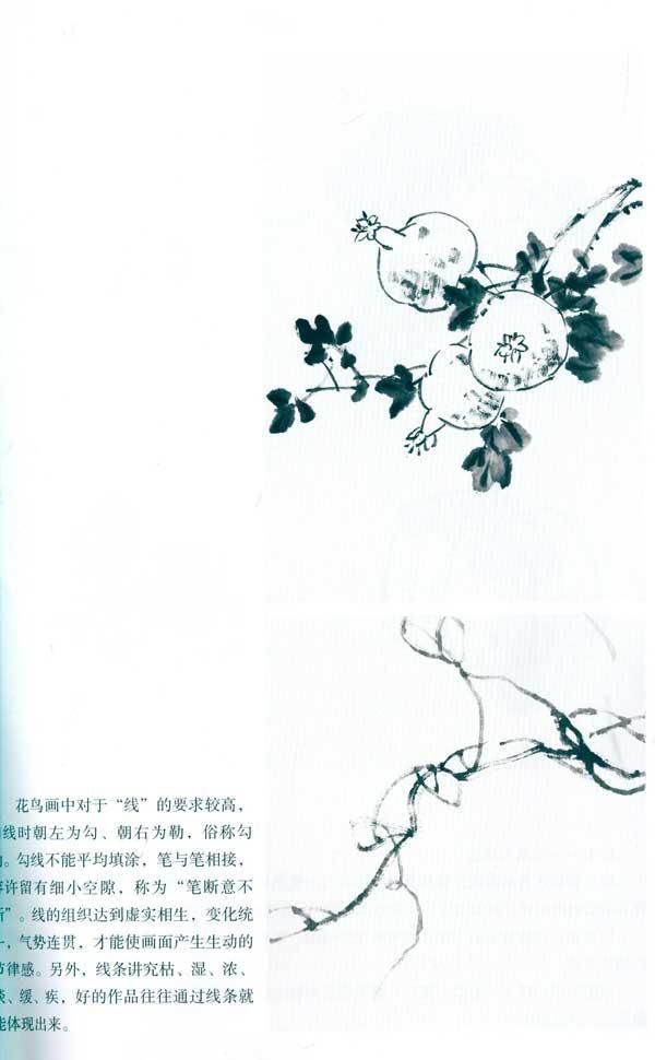 花鸟画临创图典/国画基础教程(蔬果篇)