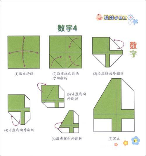 折纸元宝的制作及图解