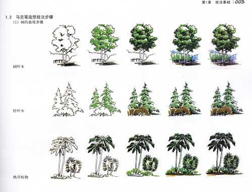 城市规划,园林景观,室内设计)的专业特点与表现技法课程教学的需要而