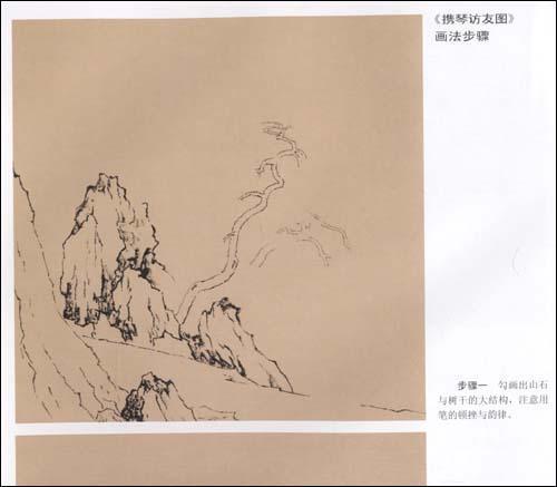 中國工筆畫解析:學畫宋畫·山水小品