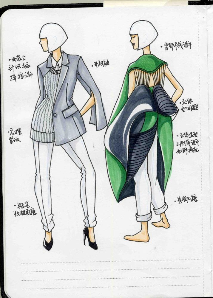 服裝設計師實用人體模板