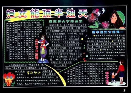 彩色板报墙报宣传栏 精选节日 第2版图片