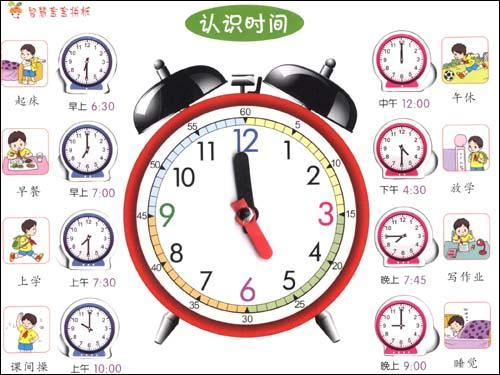 钟表简笔画步骤