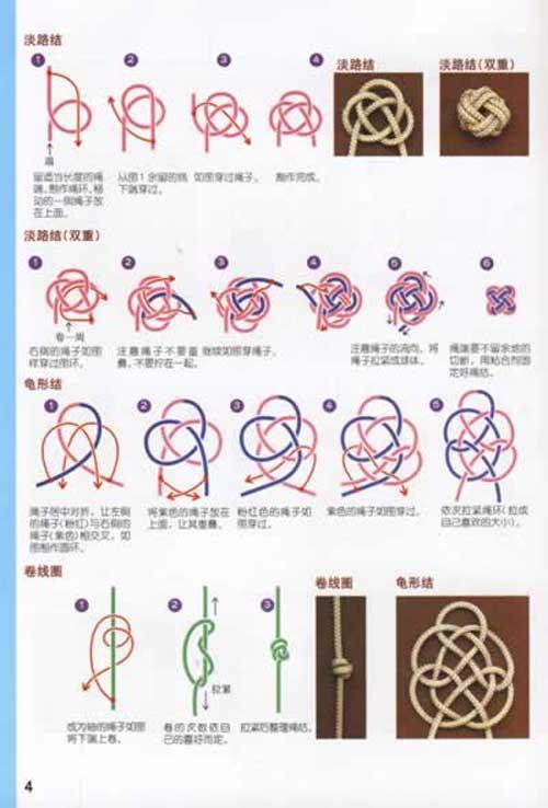 编织方法,加上详细的步骤图解