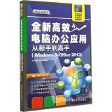 全新高效电脑办公应用从新手到高手:Windows8+Office2013